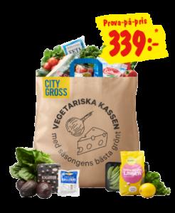 citygross - vegetariska kassen